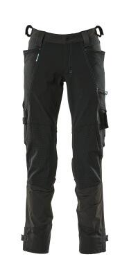 17079-311-09 Byxor med knäfickor - svart