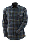17204-991-01085 Skjorta - mörk marin/stenblå