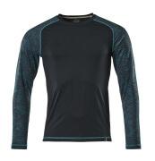 17281-944-09 T-shirt, långärmad - svart