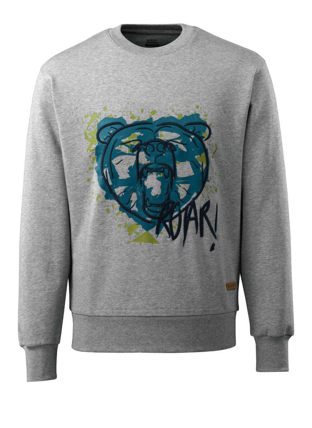 17284-280-08 Sweatshirt - grå