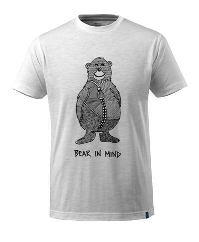 17381-983-06 T-shirt - vit
