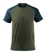 17482-944-33 T-shirt - mossgrön