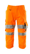 17549-860-14 Piratbyxor med knäfickor - hi-vis orange