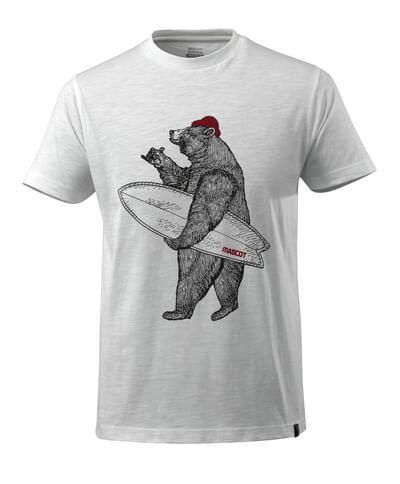 17982-983-06 T-shirt - vit