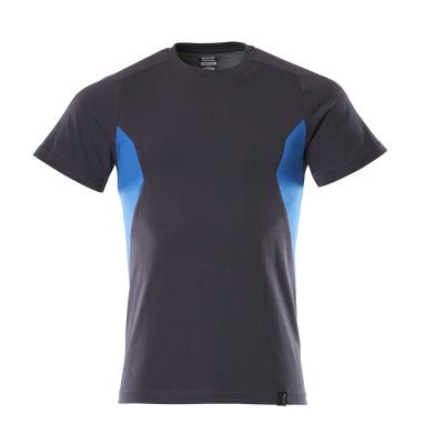 18082-250-01091 T-shirt - mörk marin/azurblå