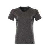 18092-801-1809 T-shirt - mörk antracit-melerat/svart
