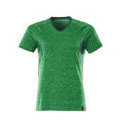 18092-801-33303 T-shirt - gräsgrön-melerat/grön