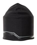 18150-807-09 Stickad mössa - svart
