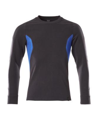 18384-962-01091 Sweatshirt - mörk marin/azurblå