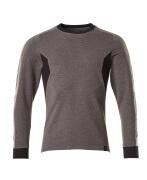 18384-962-1809 Sweatshirt - mörk antracit/svart