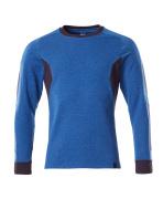 18384-962-91010 Sweatshirt - azurblå/mörk marin