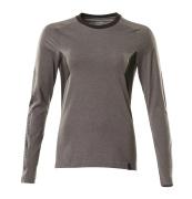 18391-959-1809 T-shirt, långärmad - mörk antracit/svart
