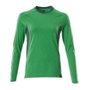 18391-959-33303 T-shirt, långärmad - gräsgrön/grön