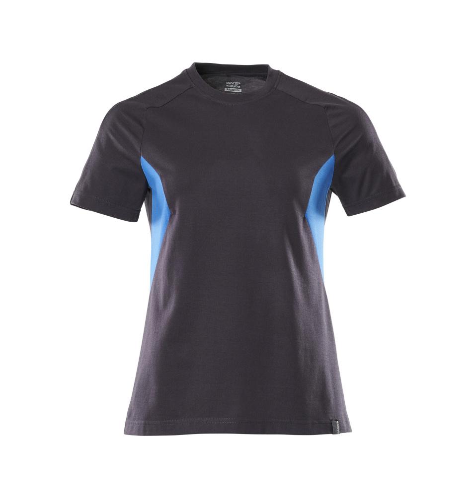 18392-959-01091 T-shirt - mörk marin/azurblå