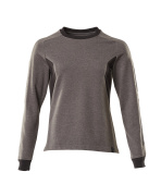 18394-962-1809 Sweatshirt - mörk antracit/svart