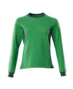 18394-962-33303 Sweatshirt - gräsgrön/grön