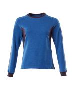 18394-962-91010 Sweatshirt - azurblå/mörk marin