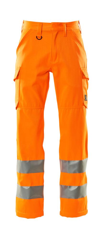 18879-860-14 Byxor med lårfickor - hi-vis orange