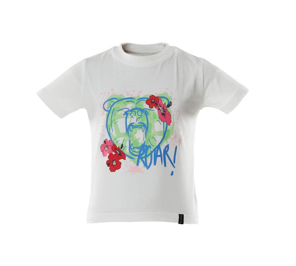 18992-965-06 T-shirtar till barn - vit