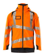 19001-449-14010 Skaljacka - hi-vis orange/mörk marin