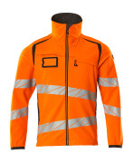 19002-143-1418 Softshelljacka - hi-vis orange/mörk antracit