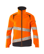 19008-511-14010 Jacka - hi-vis orange/mörk marin