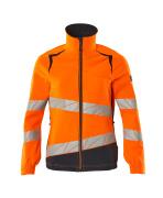 19008-511-14010 Jacka - hi-vis orange/mörk marin