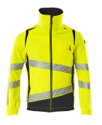 19009-511-14010 Jacka - hi-vis orange/mörk marin