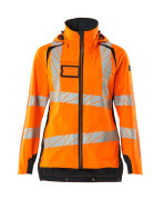 19011-449-14010 Skaljacka - hi-vis orange/mörk marin