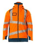 19035-449-1444 Vinterjacka - hi-vis orange/mörk petroleum