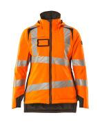 19045-449-1418 Vinterjacka - hi-vis orange/mörk antracit