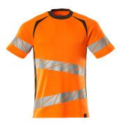 19082-771-1418 T-shirt - hi-vis orange/mörk antracit