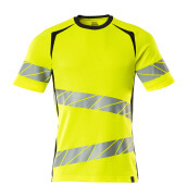 19082-771-14010 T-shirt - hi-vis orange/mörk marin