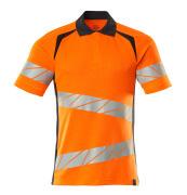 19083-771-14010 Pikétröja - hi-vis orange/mörk marin