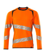 19084-781-14010 Sweatshirt - hi-vis orange/mörk marin