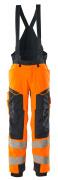 19090-449-14010 Vinterbyxor - hi-vis orange/mörk marin
