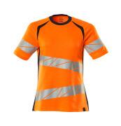 19092-771-14010 T-shirt - hi-vis orange/mörk marin