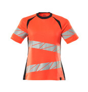 19092-771-14010 T-shirt - hi-vis orange/mörk marin