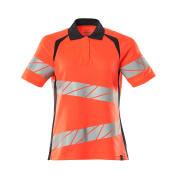 19093-771-14010 Pikétröja - hi-vis orange/mörk marin