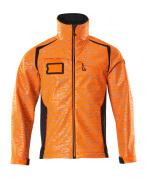 19202-291-14010 Softshelljacka - hi-vis orange/mörk marin