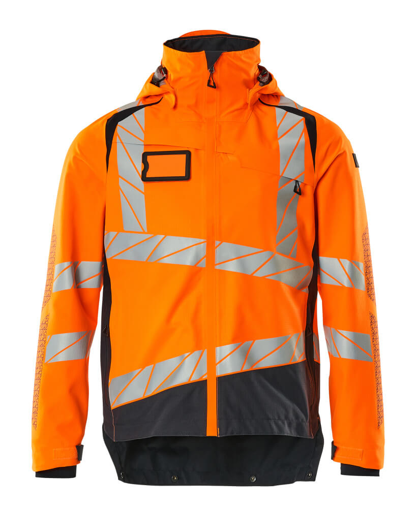 19301-231-14010 Skaljacka - hi-vis orange/mörk marin