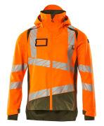19301-231-1433 Skaljacka - hi-vis orange/mossgrön