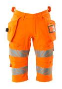 19349-711-14 Shorts, långa med hängfickor - hi-vis orange
