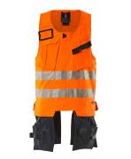 19589-711-14010 Verktygsväst - hi-vis orange/mörk marin