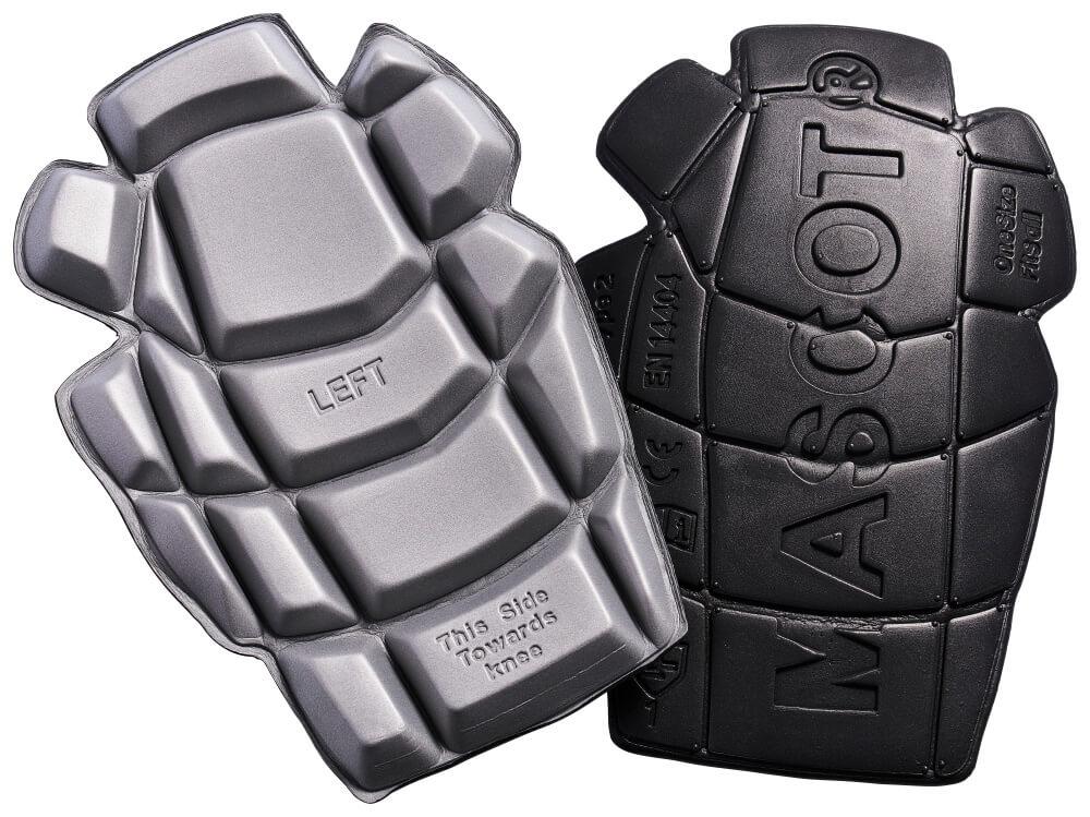 20118-915-0988 Knäskydd - svart/ljus-grå