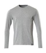 20181-959-08 T-shirt, långärmad - grå-melerat