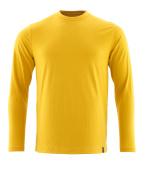 20181-959-70 T-shirt, långärmad - Curry gul