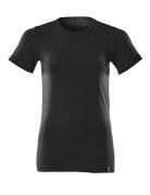 20492-786-90 T-shirt - Djup svart