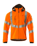 20502-246-14 Softshelljacka - hi-vis orange
