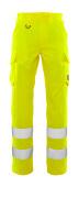 20859-236-14 Byxor med lårfickor - hi-vis orange